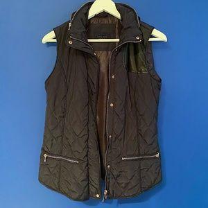 Zara navy vest